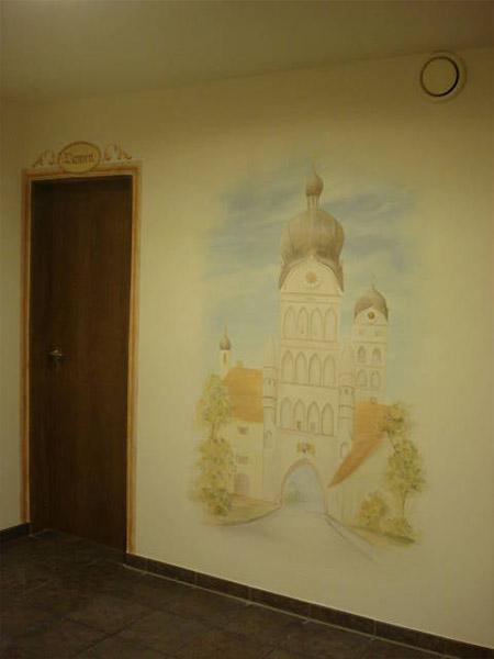 Wand Kirche