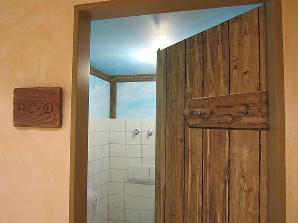 Tür WC