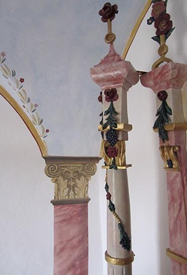 Kapelle Säulen