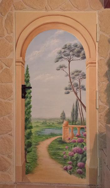 Illusion Tür Toscana