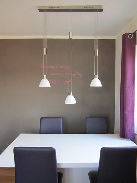 Raum Tisch Lampen…