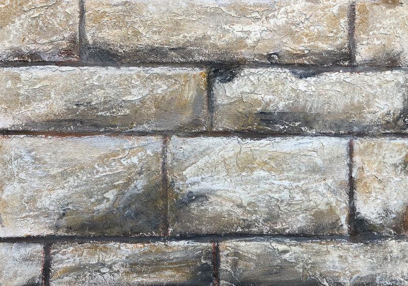 Spachtel Mauer