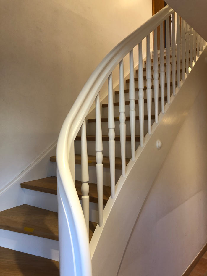 Treppe weiss 1